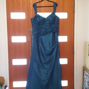 Size 22 Sugar and Spice Teal Formal Dress